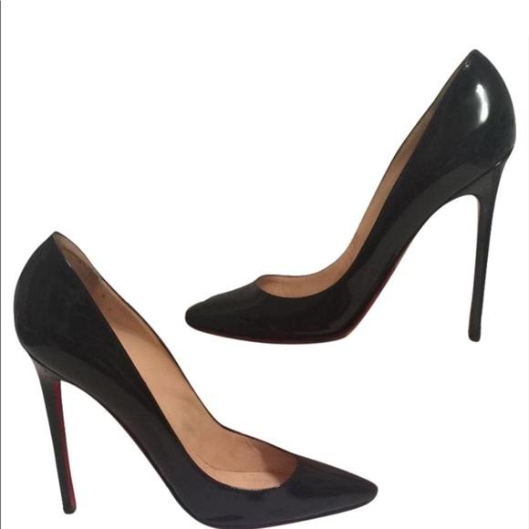 aec03ac91015 Christian Louboutin Shoes - Christian Louboutin Pigalle 120 black patent